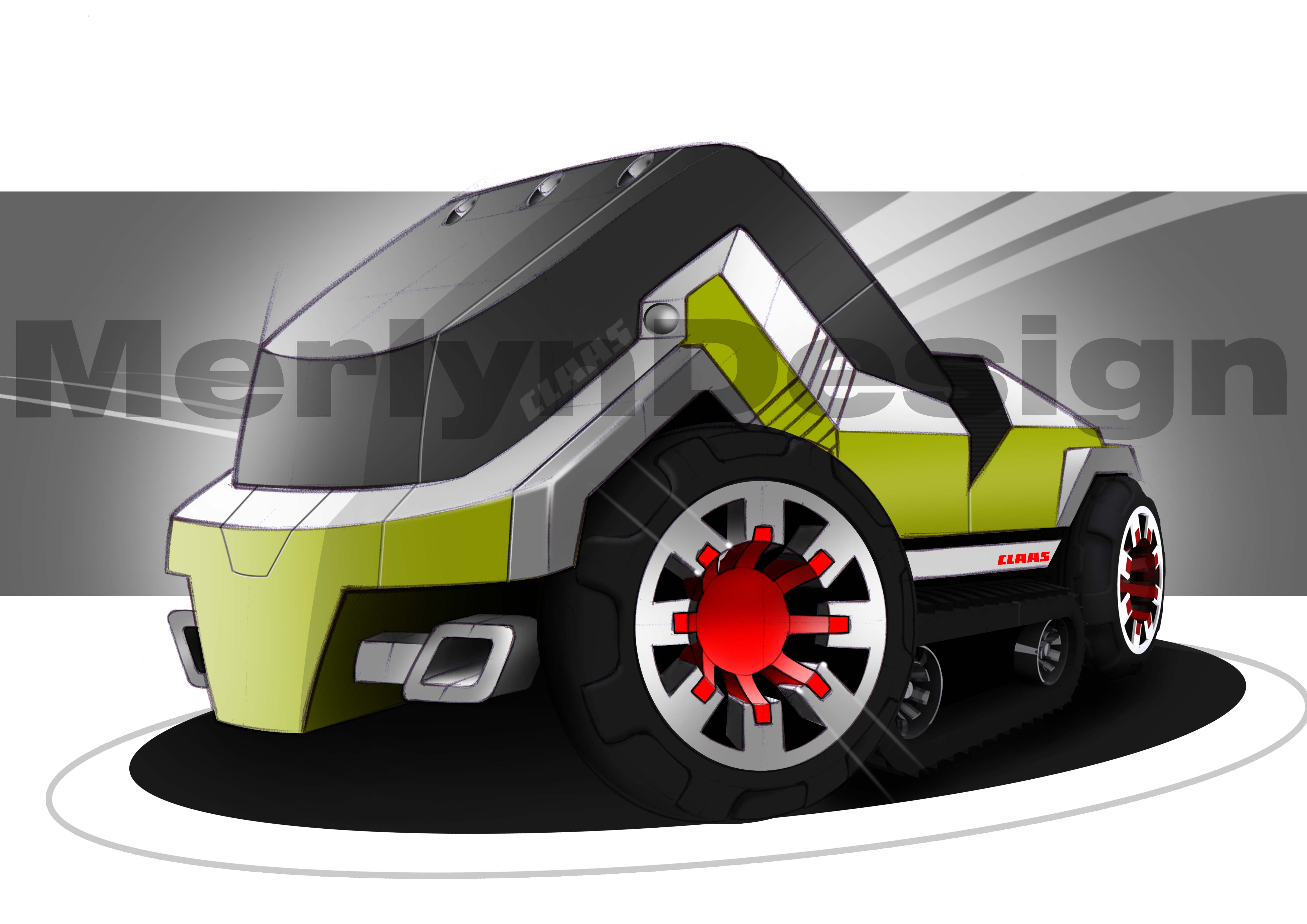 Tractor Wheels Concept : Images about design tractors on pinterest